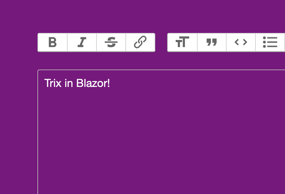 image from Trix editor as a Blazor Component