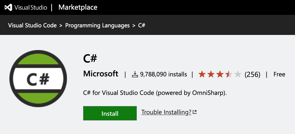 image from Forcing C# indentation in Visual Studio Code using Omnisharp
